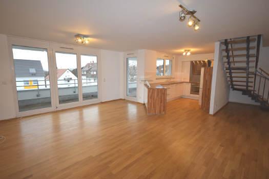 — VERKAUFT — Dachterrasse u. Balkon – Luxuriös auf 2 Etagen!