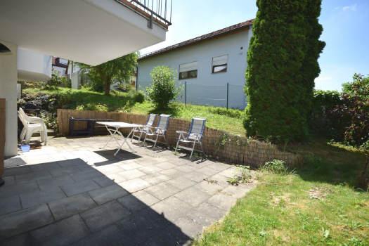 — VERKAUFT — 24 m² Sonnenterrasse, Gartengeschoss
