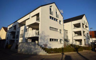 — VERKAUFT — Aufzug! Modern – barrierefrei – mitten in Stetten!