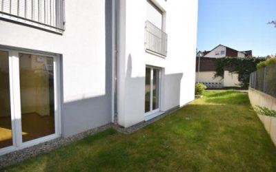 — VERKAUFT — Neuwertige EG Whg. mit eigenem Garten u. 11 m² Westterrasse…
