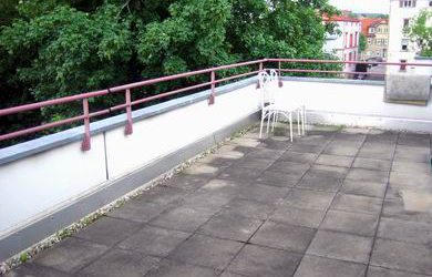 — VERMIETET — 5-Zi.-Dachterrassenwohnung Reutlingen Aulberstraße